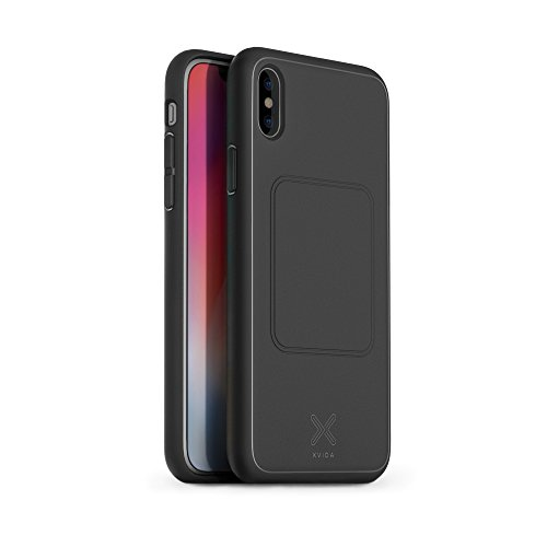 XVIDA Qi Wireless Charging Magnetic Phone Case for iPhone X (Black) by XVIDA
