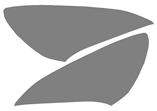 Precut Vinyl Tint Cover for 2010-2012 Hyundai Genesis Coupe Headlights (20% Dark Smoke) SlickMod