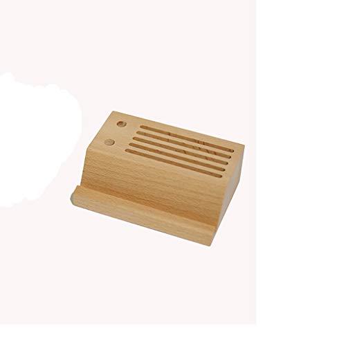 GYZS storage box Escritorio de madera Creativo Soporte para teléfono móvil Multifuncional Soporte perezoso para teléfono...