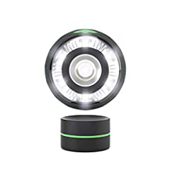 Palm it. Click it. Swivel it. You won't be able to put down your new magnetic LED work light. But when you do, stick it to the magnetic base and work hands-free. This portable LED work light is handy for working on trucks, cars, shop projects...