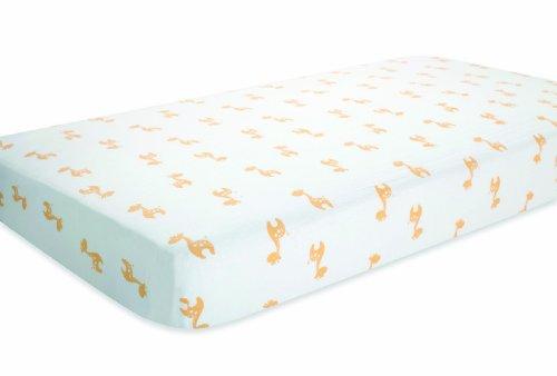 aden by aden + anais Crib Sheet, Safari Friends - Giraffe