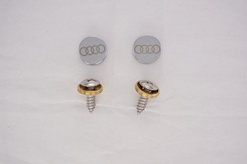 audi-laser-engraved-chrome-metal-caps-for-license-plate-frame