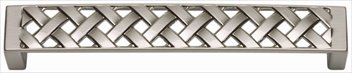 Atlas Homewares Lattice - Atlas Homewares 311-BRN Lattice 5-Inch Door Pull, Brushed Nickel