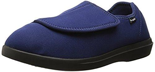 Navy Oxy Propet Foot amp; Cleaner Women's Bundle Slipper Cush'N 1xqw7BO