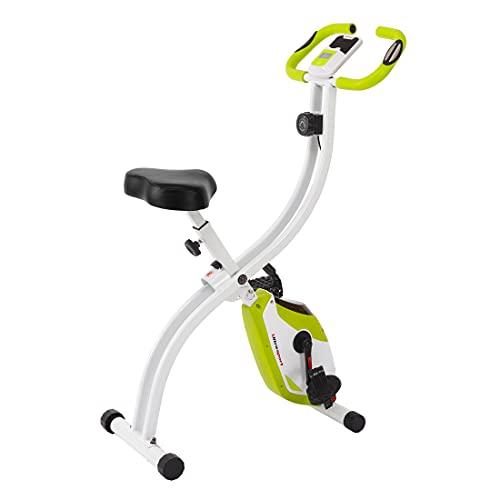 Ultrasport F-Bike 150 estática Mano, Bicicleta Fitness con Consola y sensores de Pulso en Manillar, Plegable, F-Bike 150 sin Respaldo, Unisex, Verde a buen precio