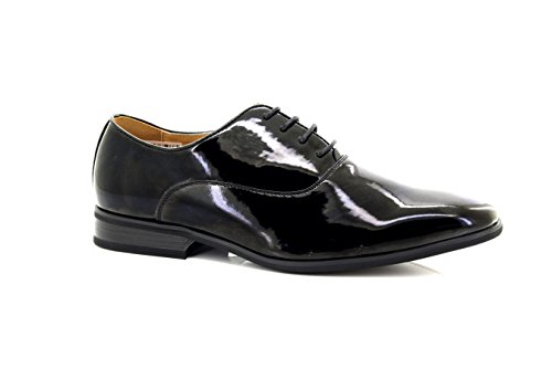 Evening Patent AU Mens Oxford Black Uniform 13 shoes Black RwZUxvdq