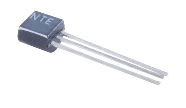 NTE Electronics NTE159 PNP Silicon Transistor for Audio Amplifier 80V Collector-Emitter Voltage TO-92 Case Switch 800 mA Continuous Collector Current