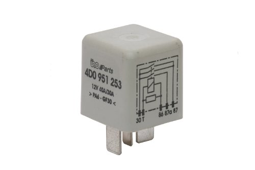 Volkswagen Fuel Pump Relay (URO Parts 4D0 951 253 Fuel Pump Relay)