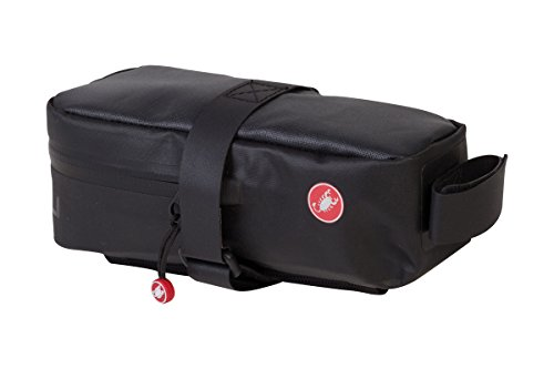 (Castelli Undersaddle XL Bag Black, One Size)