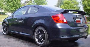 1E0 Accent Spoilers Spoiler for a Scion TC Coupe Factory Style Spoiler-Flint Mica Paint Code