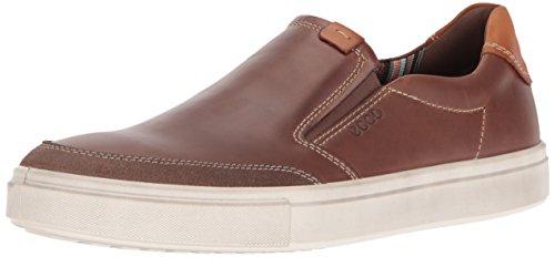 ECCO Men's Kyle Slip Fashion Sneaker, Cocoa Brown/Cocoa Brown, 47 EU/13-13.5 M US by ECCO