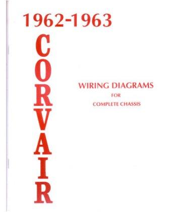 amazon com 1962 1963 chevrolet corvair wiring diagrams schematics rh amazon com