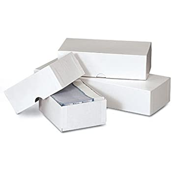 Amazon 7 x 3 12 x 2 white business card boxes 50 boxes 7 x 3 12 x 2 white business card boxes reheart Choice Image