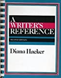 A Writer's Reference, Hacker, Diana T., 0312052545