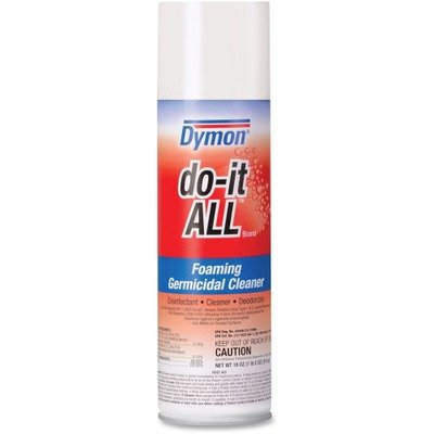 - ITW Do-It-All Germicidal Foaming/Disinfectant - Aerosol - 20 fl oz (0.6 Quart) - 12 - White