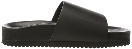SELECTED FEMME 16057170, Chanclas Mujer Negro (Black)