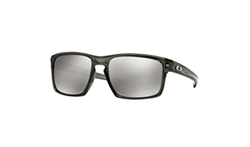Oakley Men's Sliver Polarized Grey Smoke/Chrome Iridium One Size