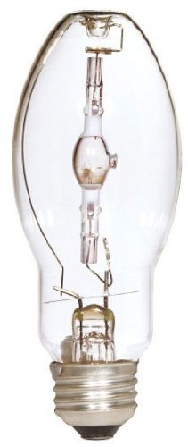 Ed28 Mogul Screw (Satco S5824 4200K 175-Watt Clear Pulse Start Universal Mount Mogul Base ED28 Metal Halide Lamp)