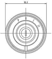 Zündschloss Startschalter Zündschalter Mit Vorglühfunktion Km 10 11 0011 Case New Holland Nr 1987424c1 Auto