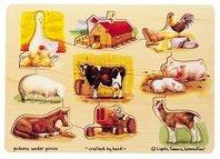 Fresh Start Pets Mix N Match Peg Puzzle (Melissa Doug Pets Mix)