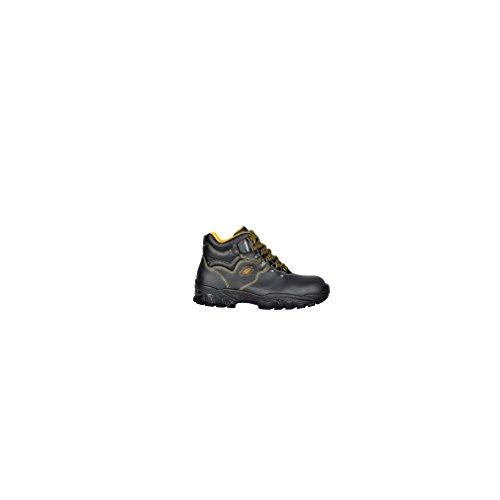 Chaussures en cuir noir de haute Cofra danube s1p44