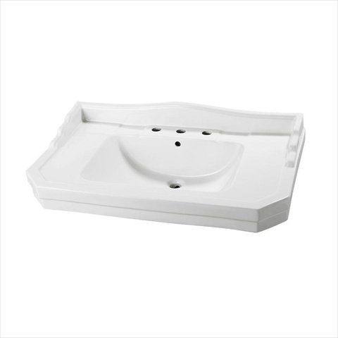 Foremost Group F-1900-8W 12 in. 1900 Series Pedestal Sink Basin in White