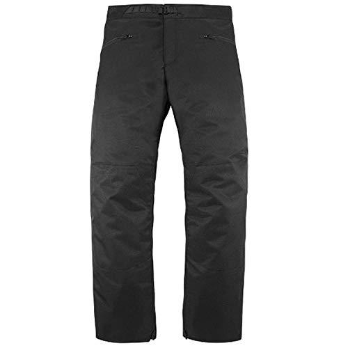 ICON アイコン OVERLORD PANT ライディングパンツ ブラック 34(約86cm) B07HX2NP6Q  34(約86cm)