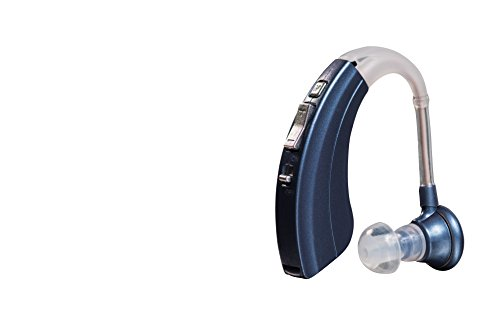 Digital Hearing Amplifier by Britzgo - 220B Blue - 500 Hour Battery Life