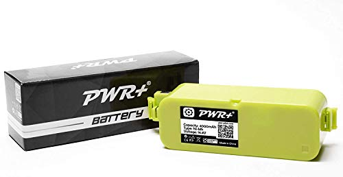 Roomba Discovery Battery - Pwr+ High-Capacity Battery for Irobot-Roomba 400 405 410 415 416 418 4000 4100 4105 4110 4130 4150 4170 4188 4210 4220 4225 4230 4232 4260 4296 400-Discovery-Create Dirt-Dog-Schedular