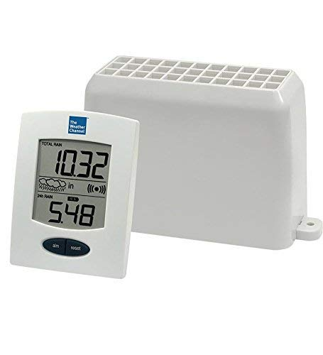 La Crosse Technology The Weather Channel Wireless Rain Gauge Center WS-9005U-IT by La Crosse Technology