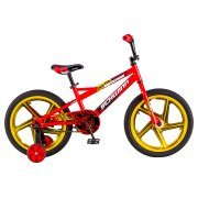 18'' Schwinn Mototrax Boy's Sidewalk Bike, Red by Schwinn (Image #2)
