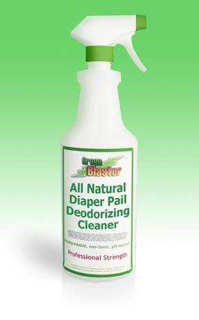 Green Blaster Products GBDPOD16S All Natural Diaper Pail Deodorizing Cleaner 16oz Sprayer by Green Blaster Products