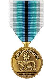 Medals of America Coast Guard Arctic Service Medal Bronze