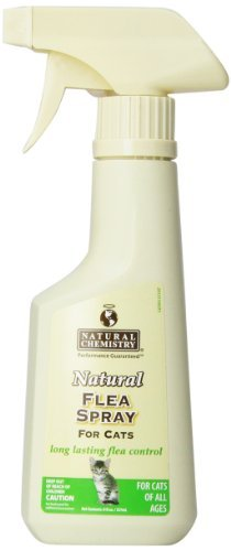 Natural Flea Spray for Cats, 8-Ounce
