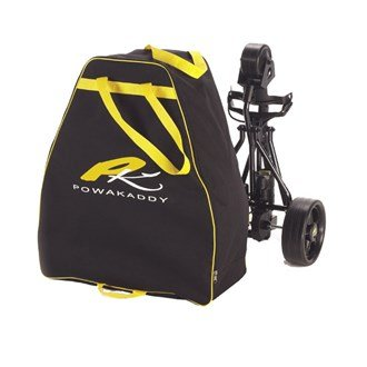 Powakaddy Travel Bag (2016 Powakaddy Golf Trolley Travel Cover Black/Yellow)
