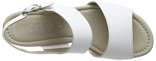 Gabor Women's Prosper Open Toe Sandals White (White Leather) iLLxlD