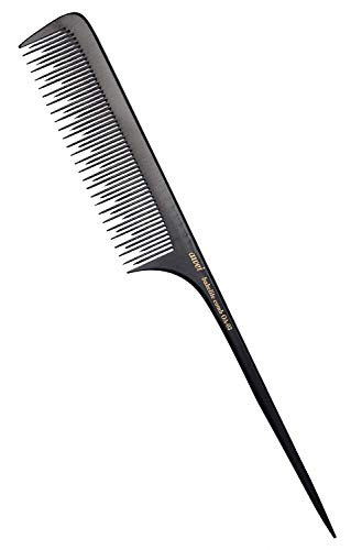 Teasing Comb for Fine Hair, Anti-static Bakelite Rat Tail Comb Tool for Back Combing, Root Teasing, Adding Volume