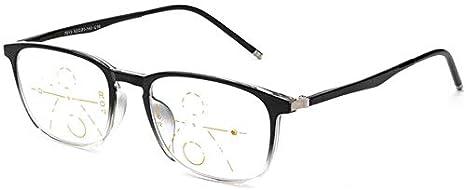 Gafas de lectura con el cuadro completo, las lentes ...