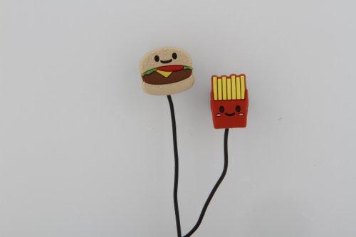 Hamburger & Fries Earbuds (HBG-1000) by Sakar
