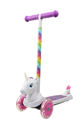 Amazon.com: Sakar 3d unicornio patinete para niños: Sports ...