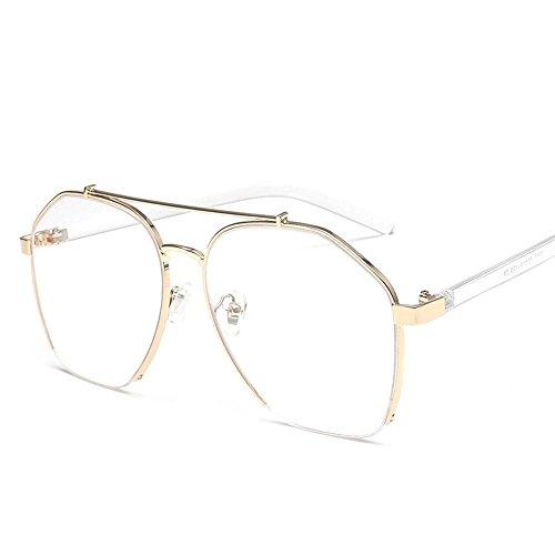 Sol Hombres Regalos y Estados creativos de Gafas Metal Unidos F Sol de Gafas Viento Chao mar Europa Moda de Disparar de Axiba Street Gafas F1qAnUw1