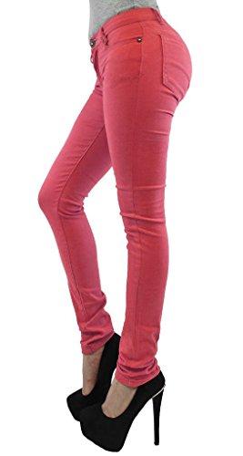Modello Elasticizzati Da 36 Jeans Coral A Leggins Tipo Skinny Taglia 54 Pantaloni Donna wFAq4xaSWO