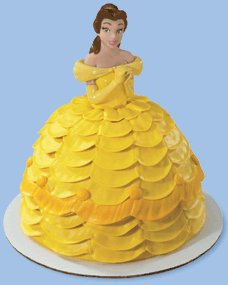 Amazoncom Disney Princess Belle Petite Doll Cake Topper Toys Games