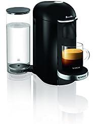 Nespresso VertuoPlus Deluxe Coffee and Espresso Maker by Breville, Black