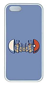 iPhone 5S Case and Cover Squirtle Evolution TPU Silicone Rubber Case Cover for iPhone 5 and iPhone 5s White by Maris's Diaryby Maris's Diary