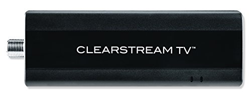 Clearstream TV Over-The-Air WiFi Tuner, Connects to Any TV Antenna, Use The Free App to Record and Pause Live TV, Watch Recordings On-The-Go, No Monthly Fees