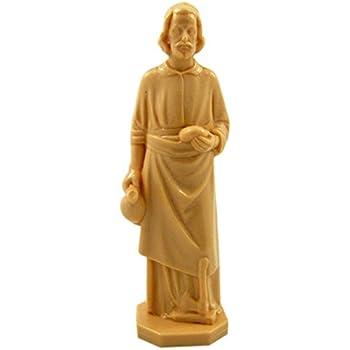 saint joseph home seller statue figurine 4 inch home kitchen. Black Bedroom Furniture Sets. Home Design Ideas