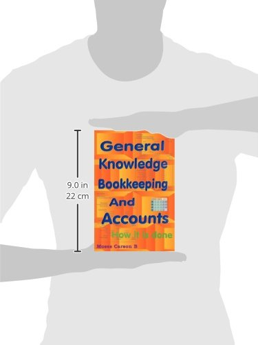 General Knowledge Bookkeeping and Accounts by CUSTOM BOOKS