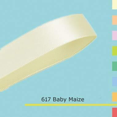 Jammas (100yards/lot) 1/4 inch Double face Satin Ribbon 6mm - (Color: 714 Petal Peach)