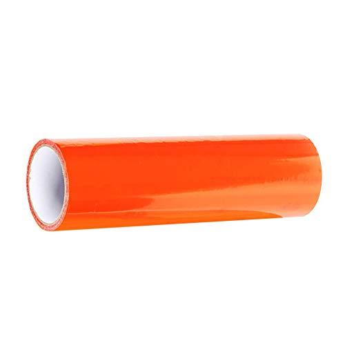 100 cm ClookYuan Fari per Auto Pellicola per fanalino Posteriore a Colori Fari per pellicole Pellicola Trasparente Camaleonte Pellicola per Auto Adesivi per Portatili Arancione 30 cm